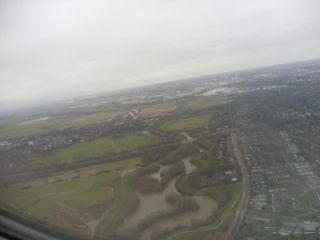 Luftbild Bremen nach dem Start