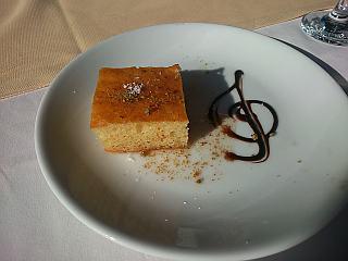 Diese sehr süßen Kuchen gibt es häufig zum Dessert,