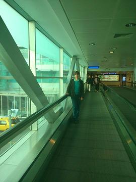 Istanbul-Transit zum Auslandsflug-Terminal